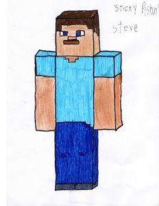 Sticky Piston Steve