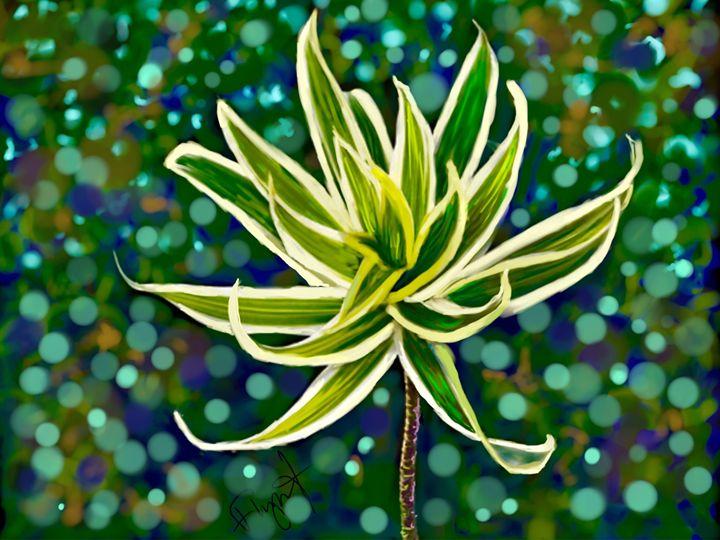 Tropical Plant 03 - Sheila Flynt