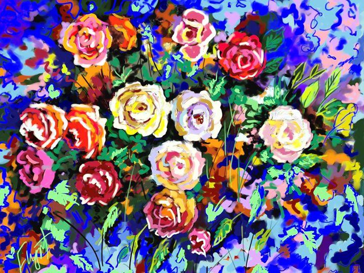 Rose Impression 4708 - Sheila Flynt