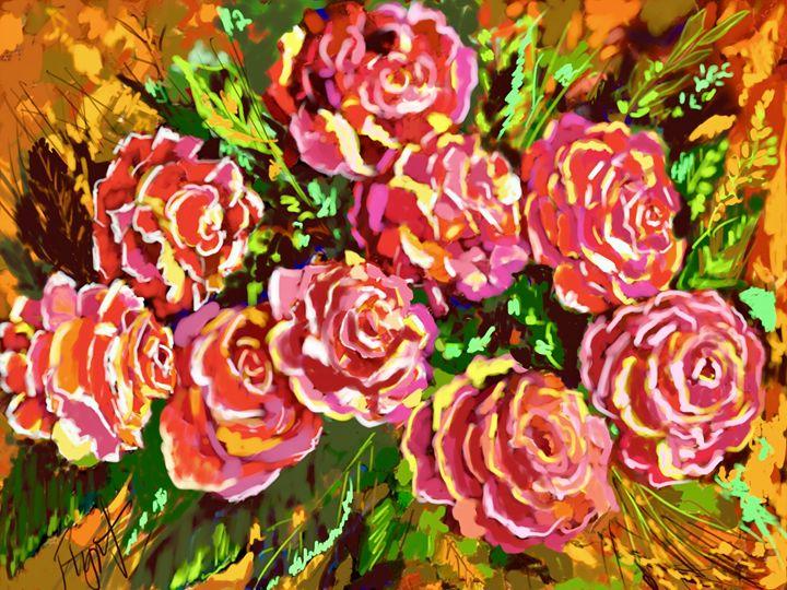 Rose Impression 4712 - Sheila Flynt