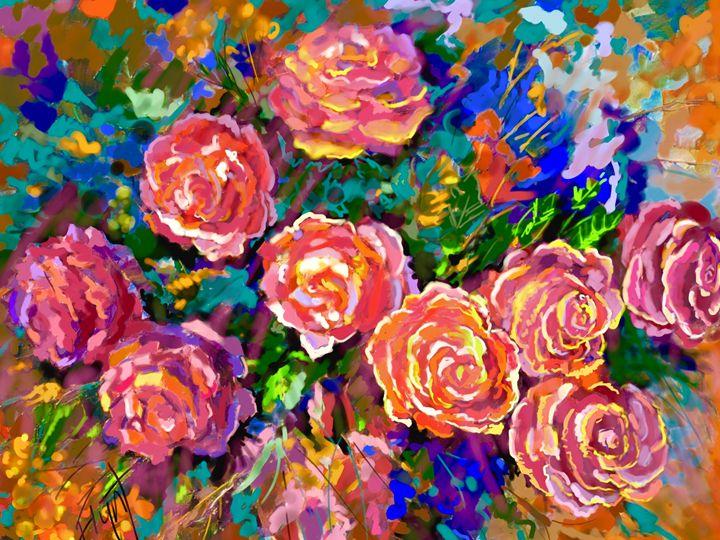 Rose Impression 4710 - Sheila Flynt