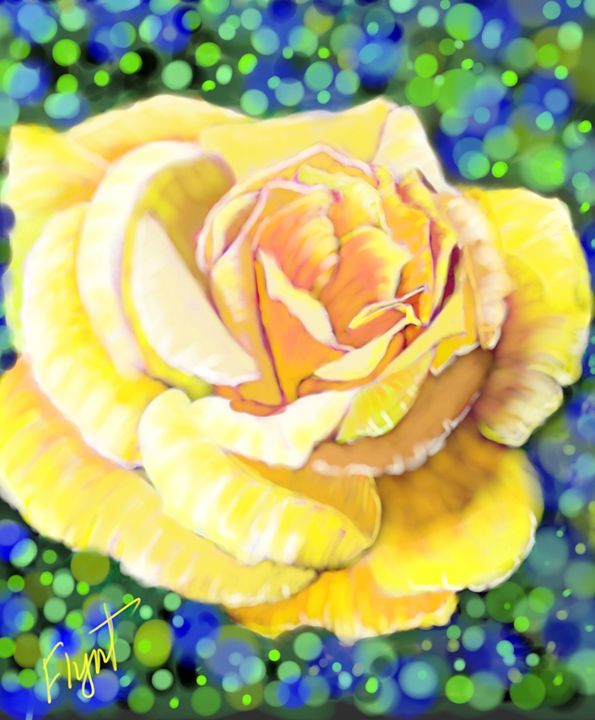 Yellow Rose 101 - Sheila Flynt