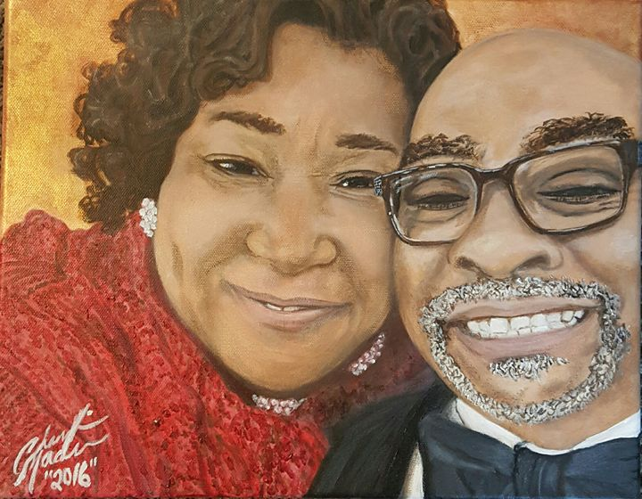 Memorable Custom Couples Portraits - Meaningful Moments Artwork