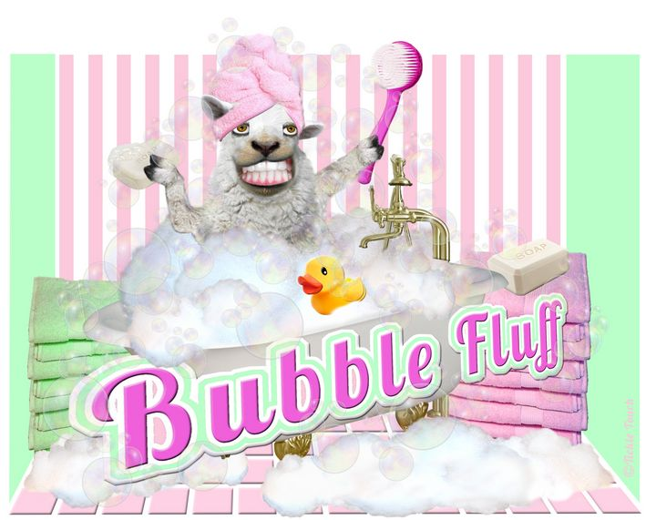Pampered Bubble Fluff - Tickle Touch
