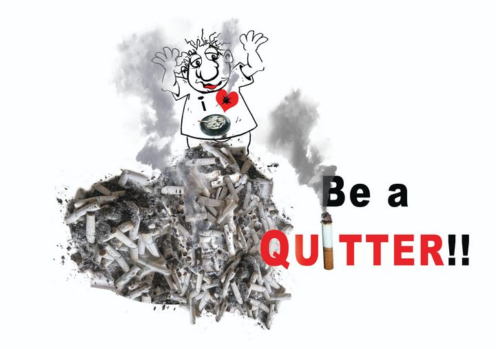 Be a Quitter! - Tickle Touch