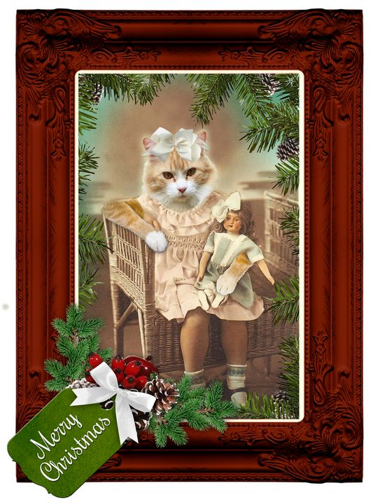 Festive Animalia Victoriana - Tickle Touch