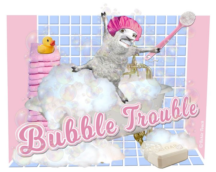 Bubble Trouble - Tickle Touch