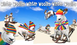 Winter Woolies - Tickle Touch