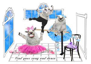 FLUFFY TUTU Born to Dance