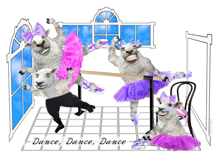 FLUFFY TUTU Born to Dance - Tickle Touch
