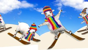 Baaad Sheep Hit the Slopes - Tickle Touch