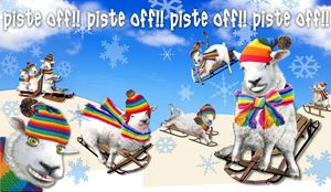 Piste Off Baaad Sheep - Tickle Touch