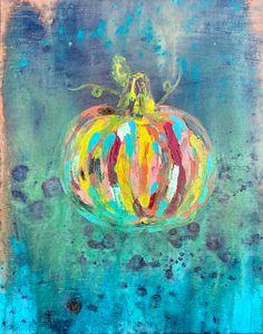 Pumpkin Canvas 1