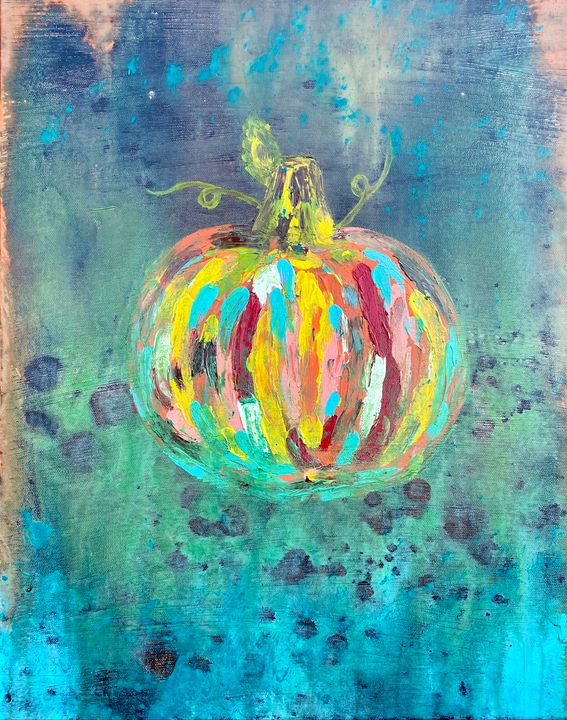 Pumpkin Canvas 1 - T Art