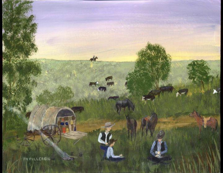 Cowboy Dinner - John W Fuller