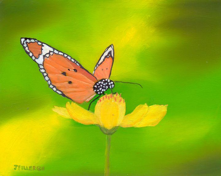 Butterfly Lunchtime - John W Fuller