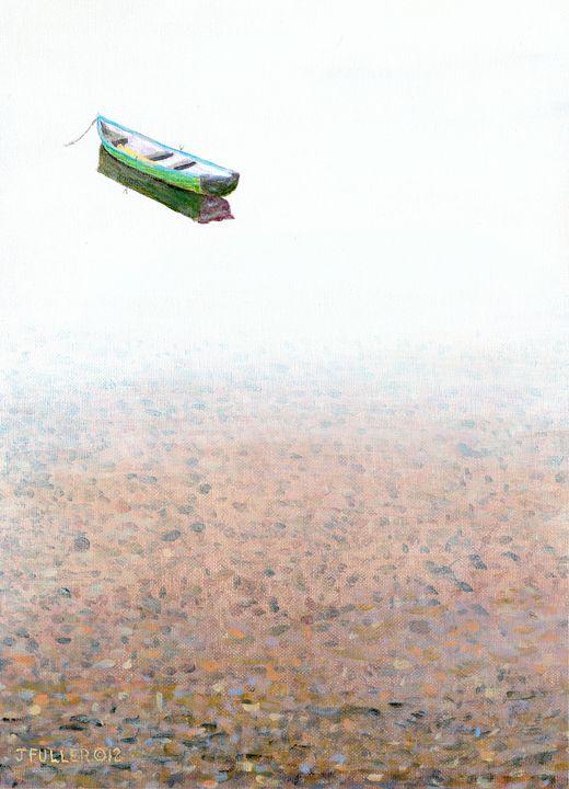Misty Lake - John W Fuller