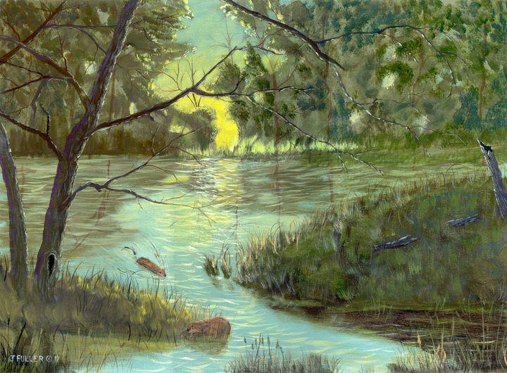 Muskquash Evening - John W Fuller
