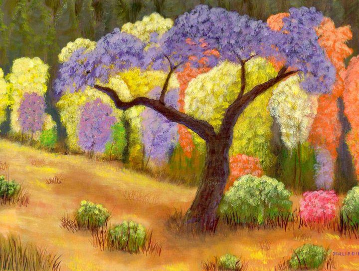 Spring Forest - John W Fuller