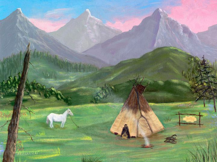 Mountain Retreat - John W Fuller