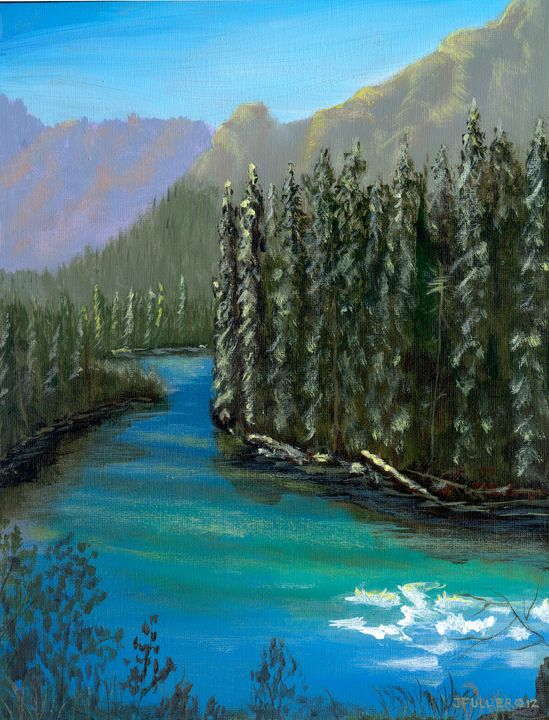 McDonald Creek - John W Fuller
