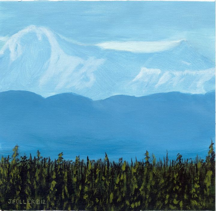 Queen Anne Mountain - John W Fuller
