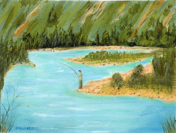 Fishing the Liard - John W Fuller
