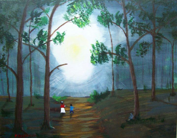 Woodland Walk II - John W Fuller