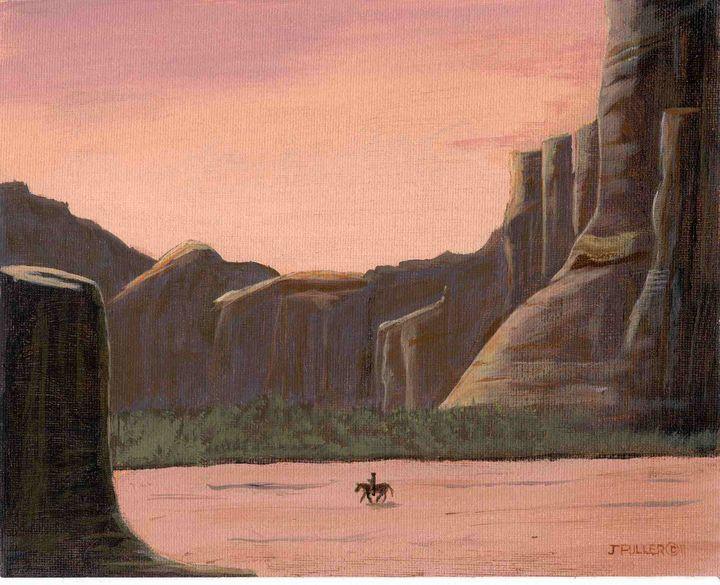 Desert Canyon - John W Fuller