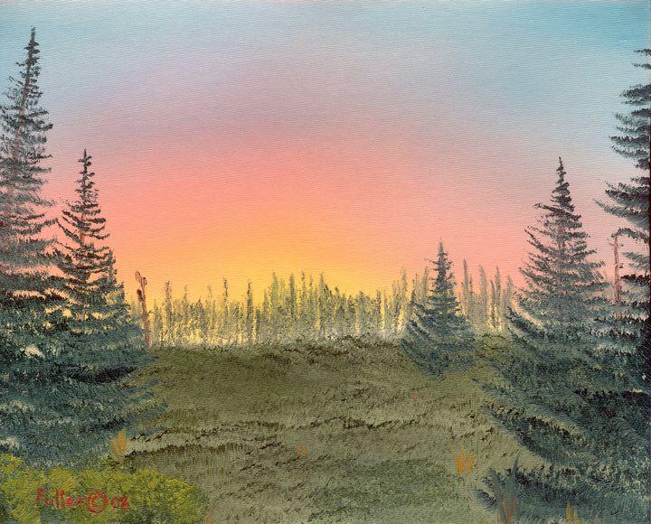 Pine Meadow Summer - John W Fuller