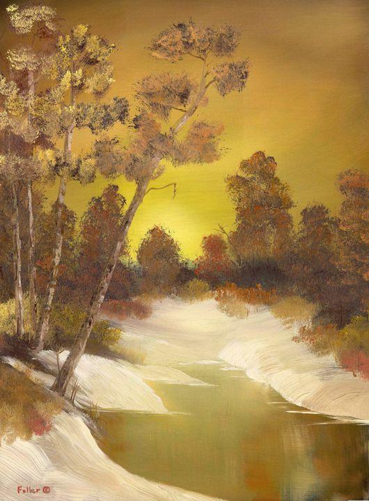 Golden Winter - John W Fuller