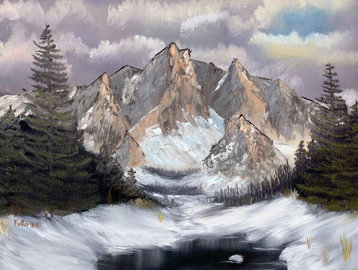 Winter Valley - John W Fuller