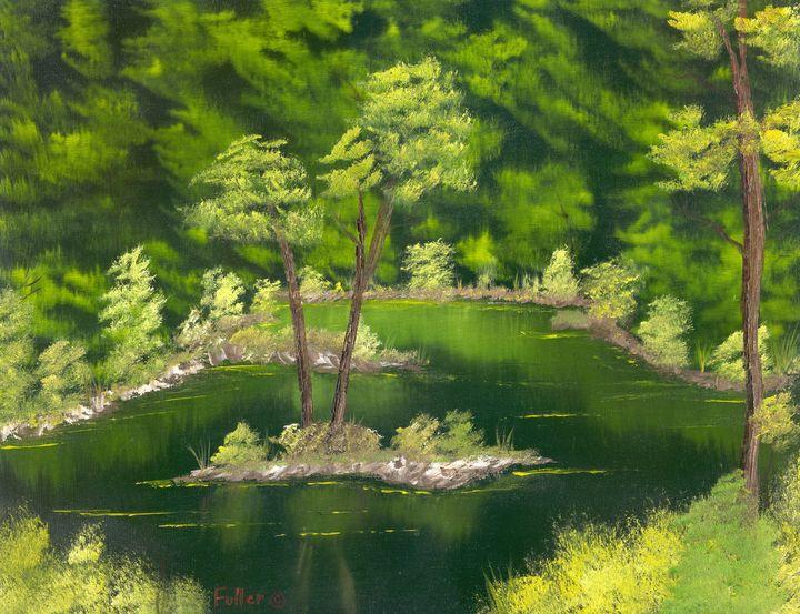 Forest Pool - John W Fuller