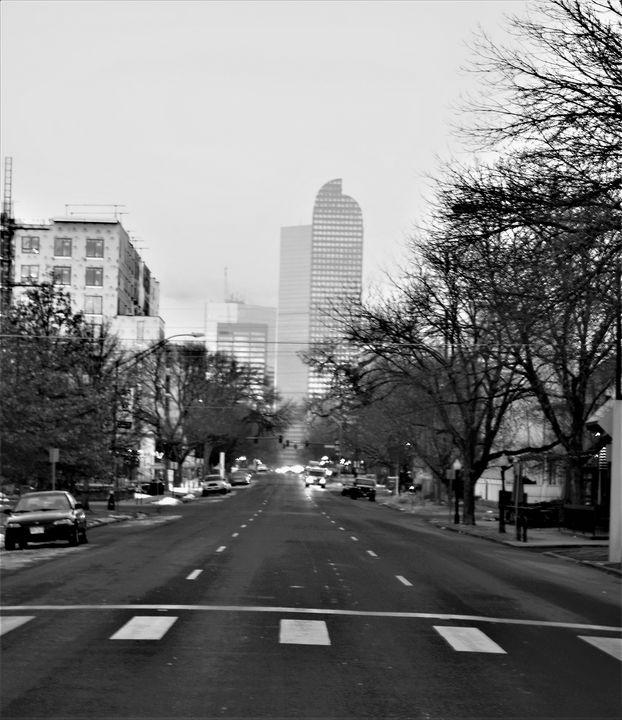 CITY MORNING - C.E-GODWIN