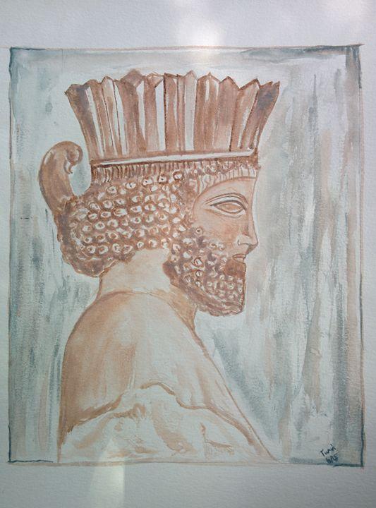 Bas relief Persepolis - MajesticElixir