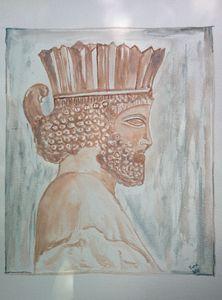 Bas relief Persepolis
