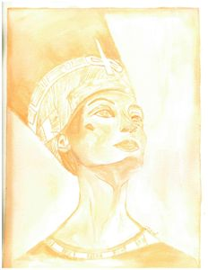 The aura of Nefertiti