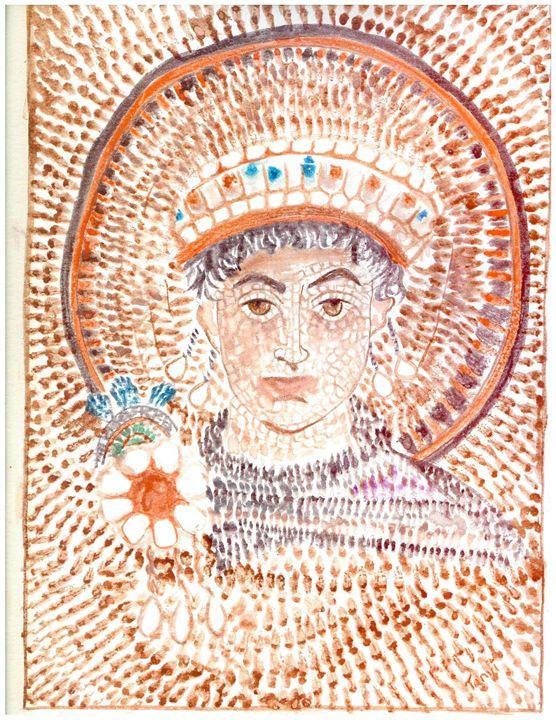 Emperor Justinian of Byzantine - MajesticElixir