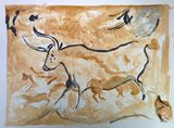 reproduction of chauvet cave