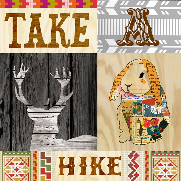 Take a hike collage - GreenNest