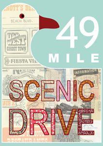 Scenic Drive San Francisco Collage