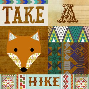 Take a hike Fox collage