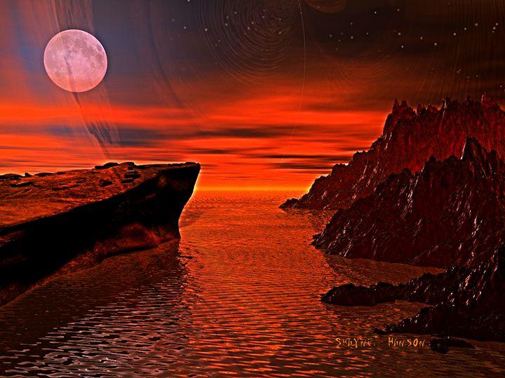 """Moon Glow"" - Shayne's Art"
