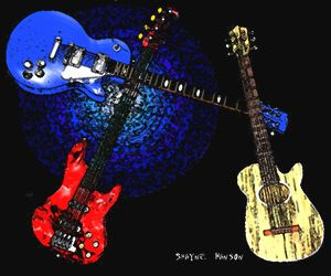 """Three Guitars"""