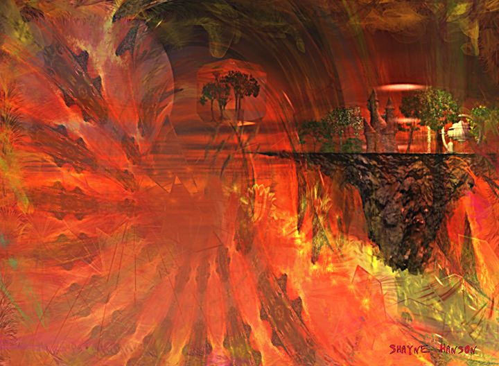 """Bubble Castle"" - Shayne's Art"