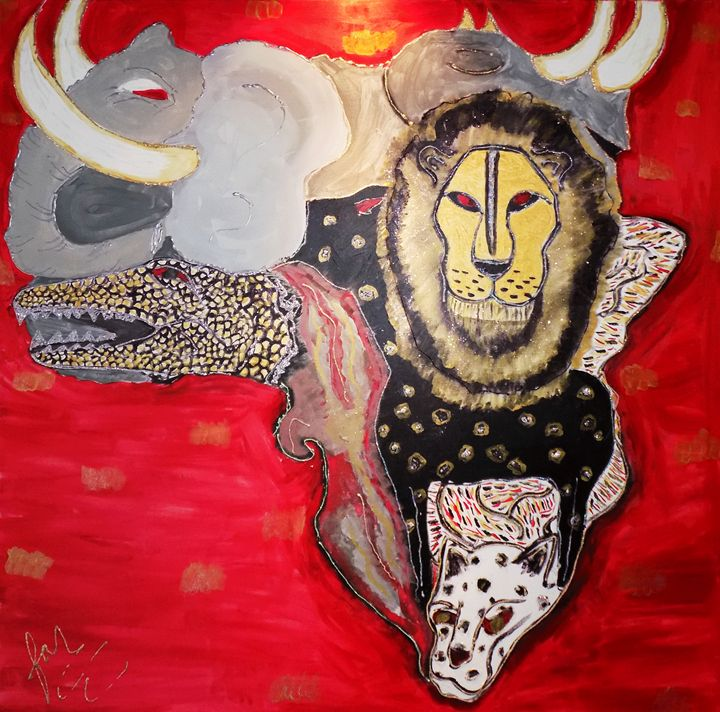 Africa by: Fonda Rogers - Brown Tree Art House