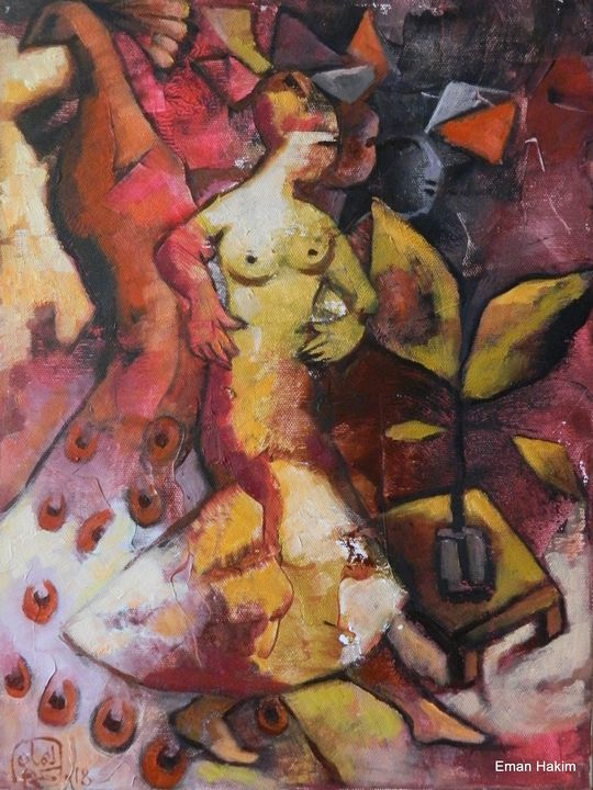 The DAME - 9 - Eman Hakim Art and Paintings