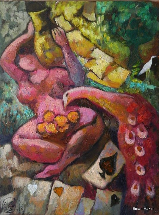 The DAME - 6 - Eman Hakim Art and Paintings
