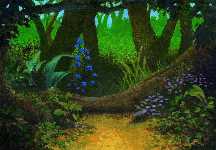Woods - Melvyn Hardman