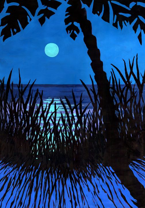 Tropical moon - Melvyn Hardman
